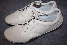 New PROPET Bone Leather Flat Lace-Up Comfort Shoes US 9