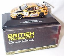 HONDA INTEGRA TYPE-R MATT guarire Team Halfords 2006 BTCC CHAMPION 1:43 NUOVO IN SCATOLA