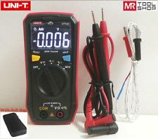 Uni-T UT123 Mini Digital multimeter Ohmmeter Volt Temp NCV Tester EBTN+Softbag