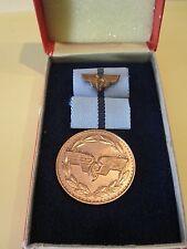 ORDRE Médaille du mérite ddr gdr Reichsbahn pour fidèles Services Niveau 1