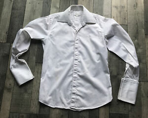 Immaculate Mens WILLIAM HUNT saville  Row Cufflink Shirt 16/L