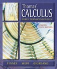 Thomas' Calculus, Early Transcendentals Update, 10th Edition