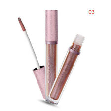 Long Lasting Moisturizer Liquid Cosmetic Lipstick Waterproof Shimmer Gloss 3#