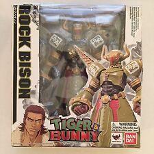 "Bandai S.H.Figuarts Rock Bison Tiger & Bunny 7"" Action Figure"