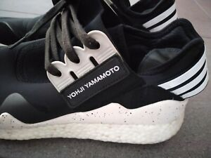 Adidas Y-3 Retro Boost OG Size 8 US 42 EU B35693 Black White