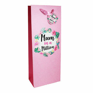 Mum in a Million Bottle Bag Prosecco / Wine Mother's Day Gift