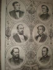 New Baronets knights Gooch Lampson Canning Glass Thomson Anderson 1866 prints