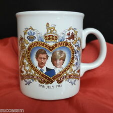 """Princess Diana Prince Charles Mug Royal Wedding - Bone China England 4"""""""