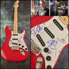 GFA Don't Stop Believin x4  * JOURNEY * Band Signed Electric Guitar AD6 COA