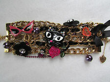 Betsey Johnson Bracelet Statement Vampire Slayer NEW