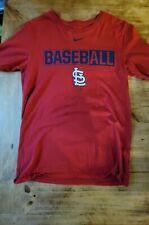 Nike Size Small St Louis Cardinal T Shirt