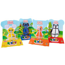 Rubiks Junior Animal Puzzles / Collect Them All / Age 4+