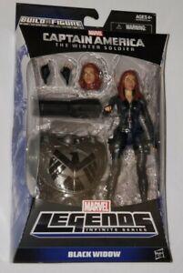 Marvel Legends Captain America Winter Soldier Black Widow Mandroid BAF Piece!