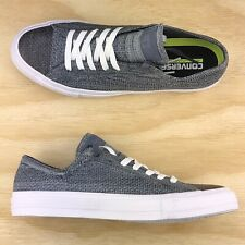 Converse Chuck Taylor All Star Black White Grey Flyknit Low Top 157594C Size 9