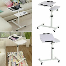 White Adjustable Portable Laptop Lazy Table Stand Lap Sofa Bed Tray  Desk