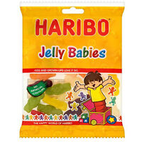 HARIBO JELLY BABIES 160G WHOLESALE DISCOUNT BAG SWEETS FAVOURS TREAT PARTY CANDY