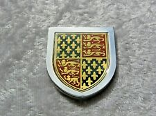 THE COATS OF ARMS OF GREAT MONARCHS OF HISTORY INGOT EDWARD III FRANKLIN MINT