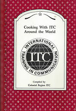 *MALDEN MA 1990 VINTAGE *WITH ITC AROUND THE WORLD COOK BOOK *ETHNIC RECIPES
