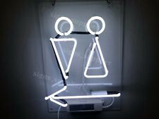 """New WC Toilet Restrooms Neon Sign Acrylic 20"""" Light Lamp Bar Wall Decor Gift"""