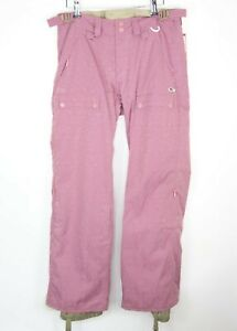 Foursquare Womens Size S Insulated Snowboard Pants Purple