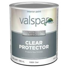 Valspar Signature Satin Clear Latex Paint Protects faux finishes
