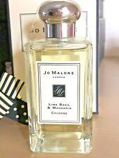 Jo Malone London Lime Basil & Mandarin Cologne 100ml bottle 98% full