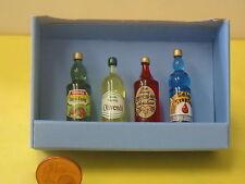 Nr.27314 Bodo Hennig Flaschen 1:10 Puppenmöbel Kaufladen Puppenhaus Puppenzimmer