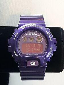 Rare Purple Casio G Shock Watch DW6900CC