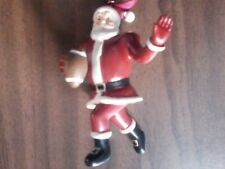 Football Santa Running Back Christmas Tree Ornament