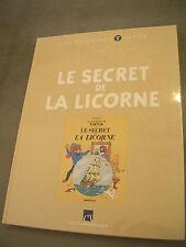 +++TINTIN-LES ARCHIVES  LE SECRET DE LA LICORNE  NEUF SOUS CELLO+++