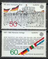 Germany 1982 MNH Mi 1130-1131 Sc 1372-1373 Europa/Treaties of Rome/Hambach Meet
