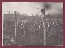 PHOTO PRESSE - 201013 - GUERRE 1914 18 Front de l'Aisne camp prisonnier allemand