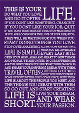 2018-2019 financial year diary Purple life quote  A5