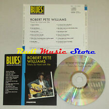 CD ROBERT PETE WILLIAMS Time's so BLUES COLLECTION 1993 DeAGOSTINI mc lp dvd vhs