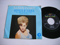 Sandy Posey Single Girl 1966 45rpm VG++ w picture sleeve