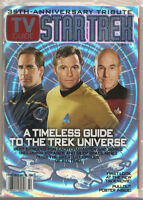 TV GUIDE STAR TREK 35th ANNIVERSARY TRIBUTE!! FROM TOS TO ENTERPRISE!!