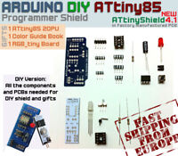 DIY Arduino Shield 4.1 ATtiny85 Programmer + FREE GIFTS:1 ATtiny85+Guide+RGB Led
