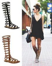 Calzado de mujer sandalias con tiras de sintético
