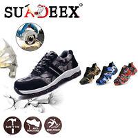 Scarpe da lavoro antinfortunistica donna Sneakers tappo in acciaio impermeabili