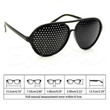 Pinhole Glasses Hole EYE Glasses Anti-Fatigue Vision Care Eyesight Improver