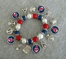 Cleveland Indians charm bracelet
