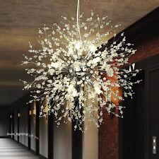 8 Light Crystal Chandelier Pendant Modern Ceiling Lighting Fixture Dining Room