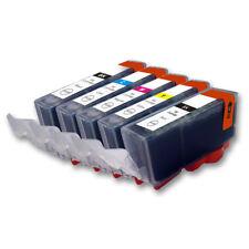 5 Druckerpatronen für CANON Pixma TS5055 TS5053 TS5051 TS5050 TS5000 mit Chip