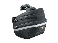 Topeak TC2273B Wedge Pack II / Bike Bicycle Seat Saddle Bag Pannier & Rain Cover