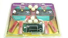 Vintage Harvard Ping Pong Table Tennis Set 4 Player New Sealed