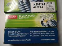 Set of 6 DensoIK20TTIridium TT Spark-Plugs for AUDI A6, A8 and ALLROAD