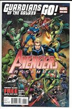Avengers Assemble #6 VF+ 8.5 Thanos Infinity War Movie Coming!Gauntlet Guardians