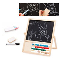 1PC Wooden Creative Durable Magnetic Drawing White Board for Girls Children Boys