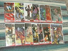 WOLVERINE #1 2 3 4 5 6 7 -13 In the Flesh One shot (Complete Series)  comic lot