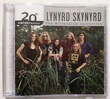 Lynyrd Skynyrd . Best of . Millennium Collection . CD . VG+ MCA Records Label
